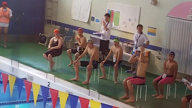 第25回中部障がい者水泳記録会
